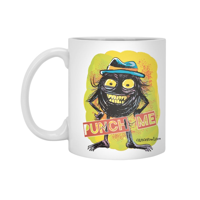 Punch Me!! Accessories Mug by cancerowl's Artist Shop