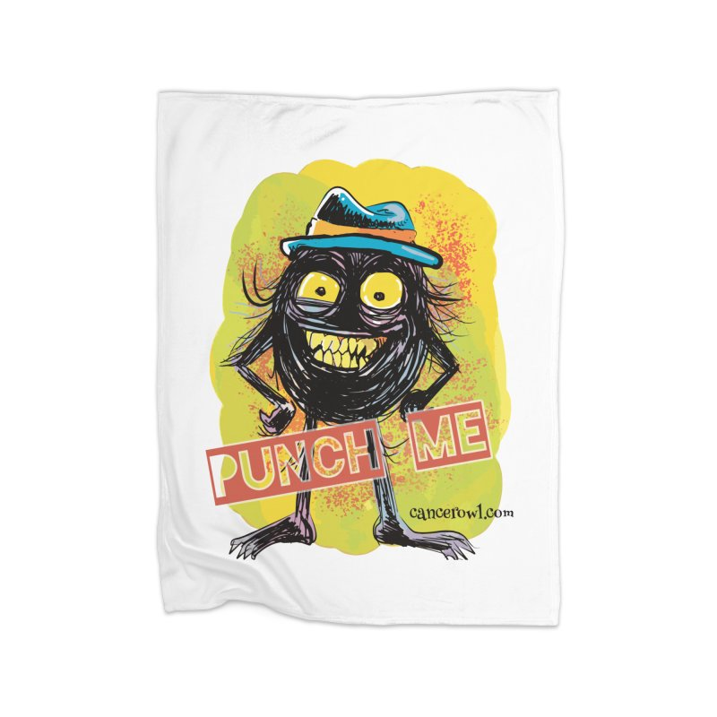 Punch Me!! Home Blanket by cancerowl's Artist Shop