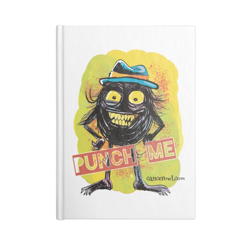 Punch Me!! Accessories Notebook by cancerowl's Artist Shop
