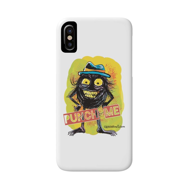 Punch Me!! Accessories Phone Case by Cancer Owl Store