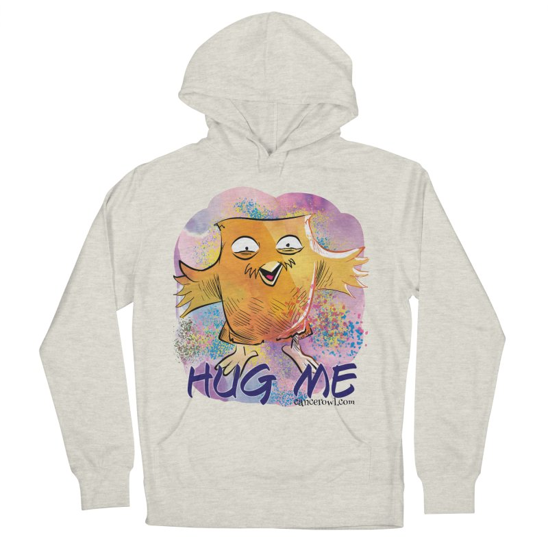 Hug Me!! Women's French Terry Pullover Hoody by Cancer Owl Store