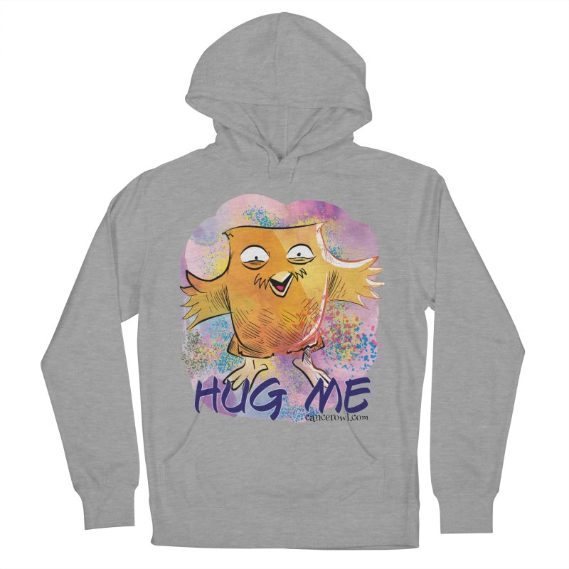 Hug Me!! Men's French Terry Pullover Hoody by Cancer Owl Store