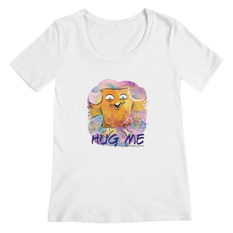Hug Me!! Women's Scoopneck by cancerowl's Artist Shop