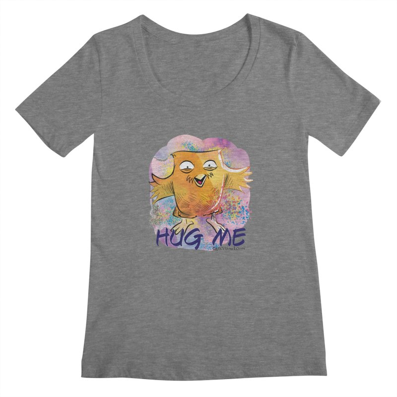 Hug Me!! Women's Scoopneck by cancerowl's Artist Shop