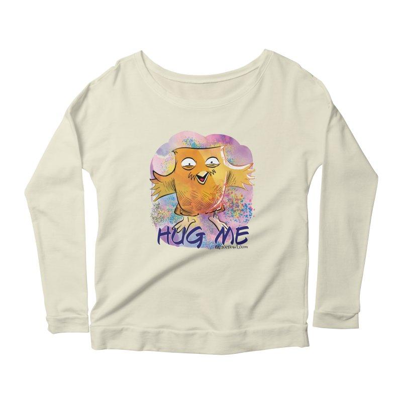Hug Me!! Women's Longsleeve Scoopneck  by cancerowl's Artist Shop
