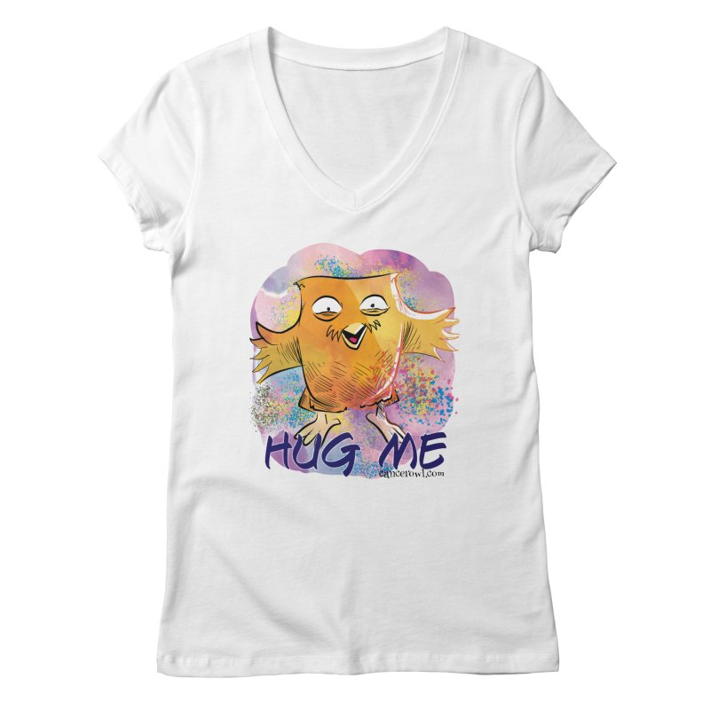 Hug Me!! Women's Regular V-Neck by Cancer Owl Store