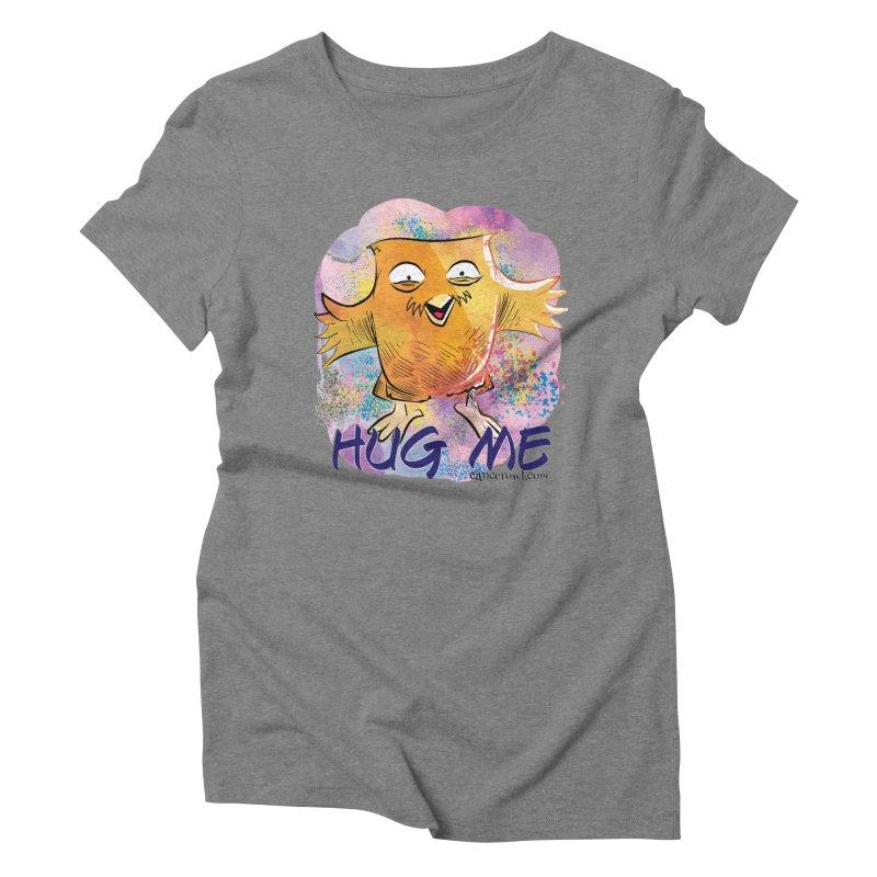 Hug Me!! Women's Triblend T-Shirt by cancerowl's Artist Shop