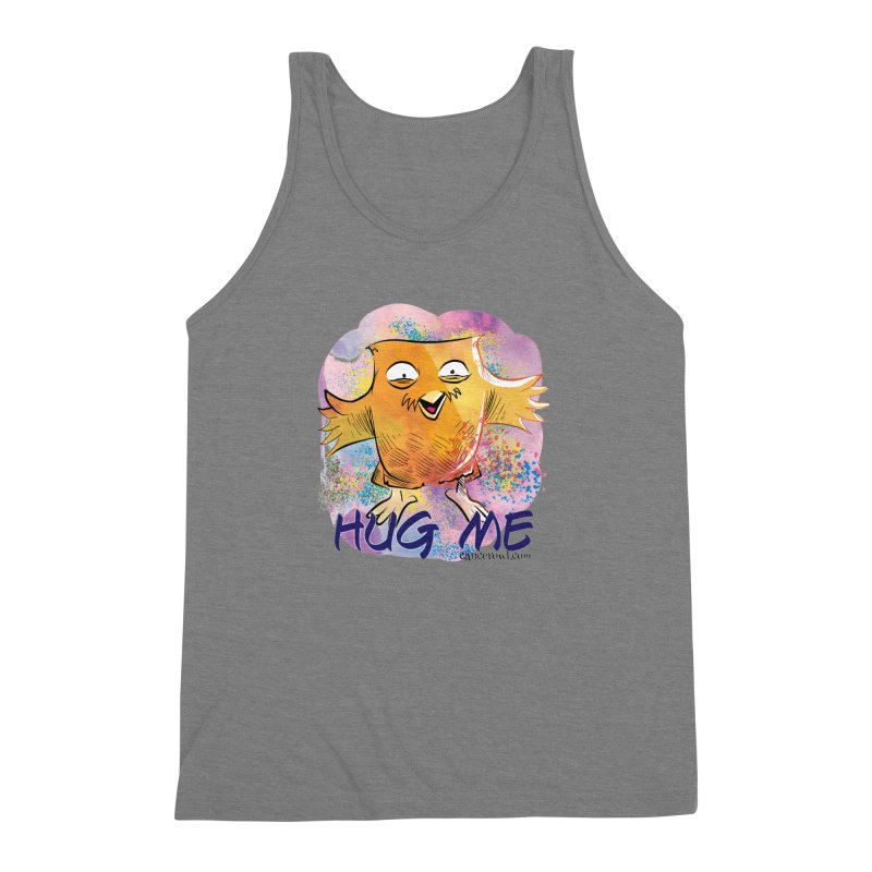 Hug Me!! Men's Triblend Tank by cancerowl's Artist Shop