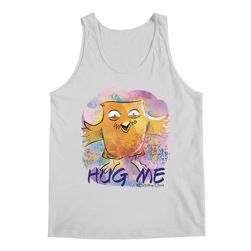 Hug Me!! Men's Regular Tank by Cancer Owl Store