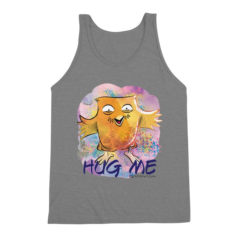 Hug Me!! Men's Triblend Tank by Cancer Owl Store