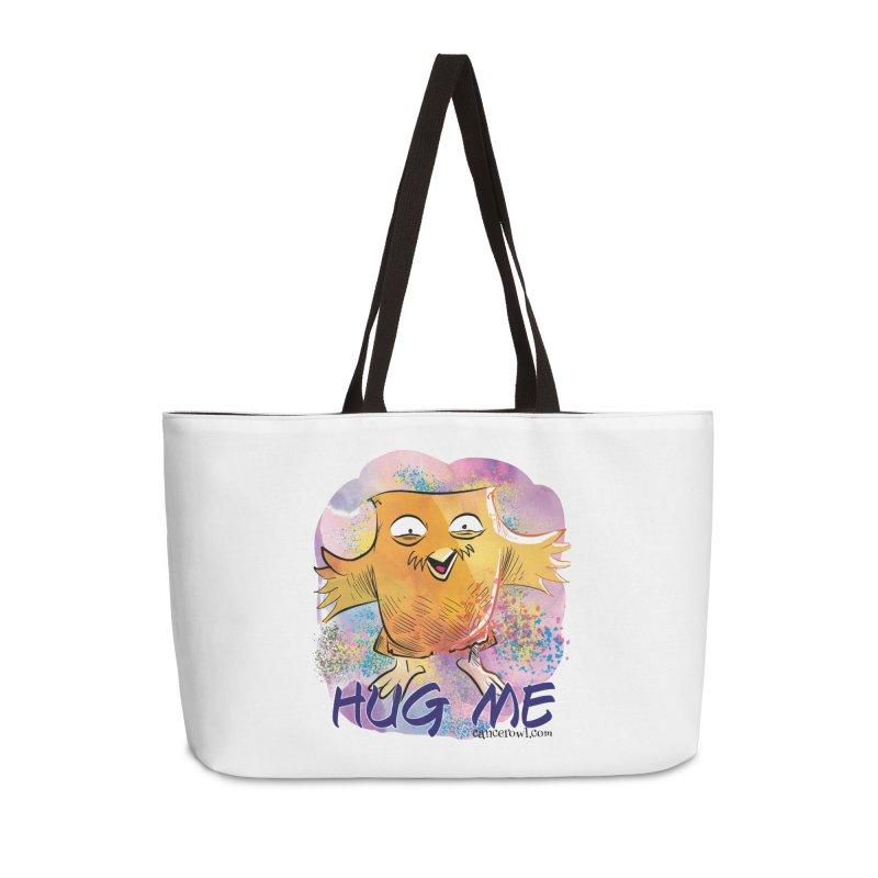 Hug Me!! Accessories Weekender Bag Bag by Cancer Owl Store