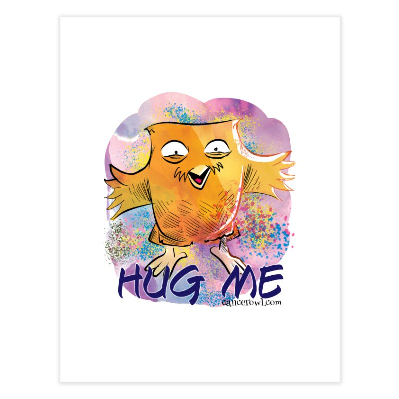 Hug Me!! Home Fine Art Print by cancerowl's Artist Shop