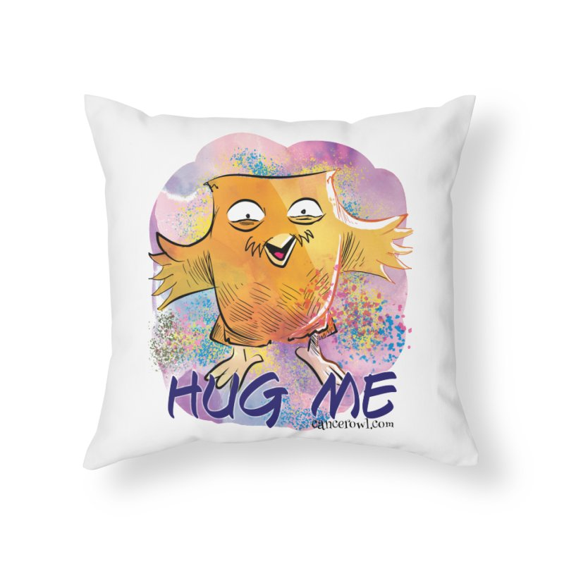Hug Me!! Home Throw Pillow by cancerowl's Artist Shop