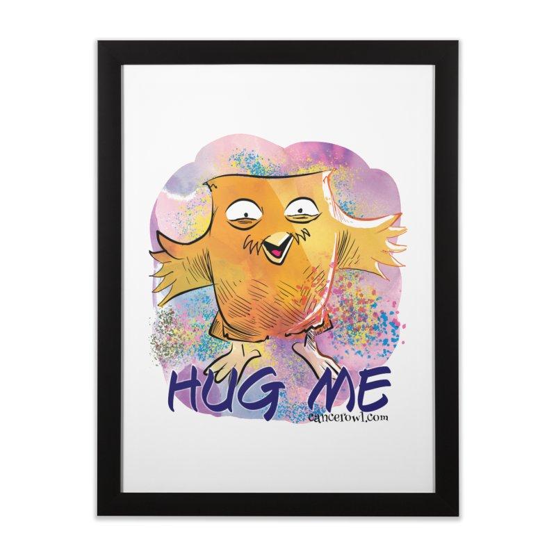 Hug Me!! Home Framed Fine Art Print by cancerowl's Artist Shop