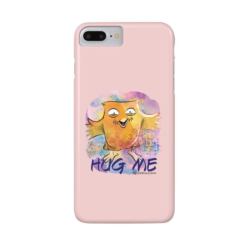 Hug Me!! Pink background   by cancerowl's Artist Shop