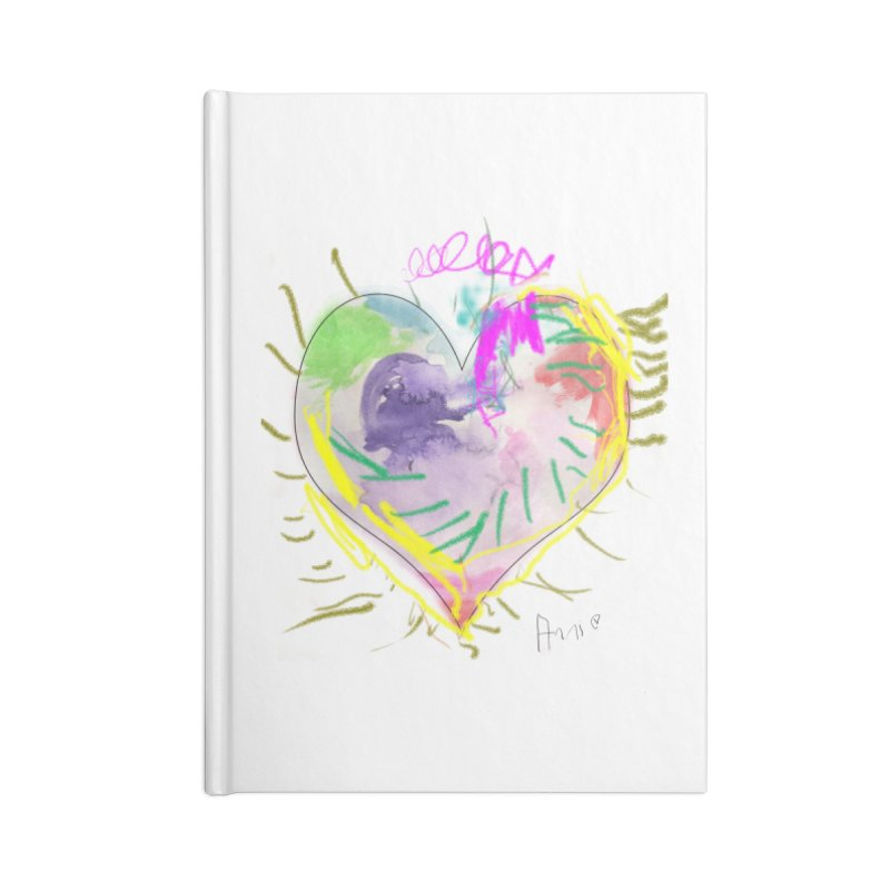 Annie's gift Accessories Notebook by cancerowl's Artist Shop