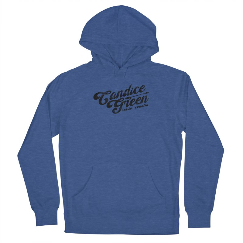 Candice Green - Raisin' Country - for light colors Men's Pullover Hoody by candicegreenmusic's Artist Shop