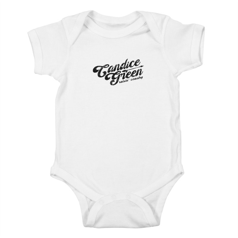 Candice Green - Raisin' Country - for light colors Kids Baby Bodysuit by candicegreenmusic's Artist Shop