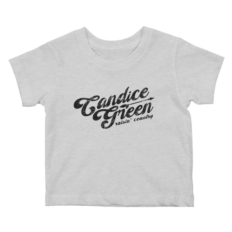 Candice Green - Raisin' Country - for light colors Kids Baby T-Shirt by candicegreenmusic's Artist Shop