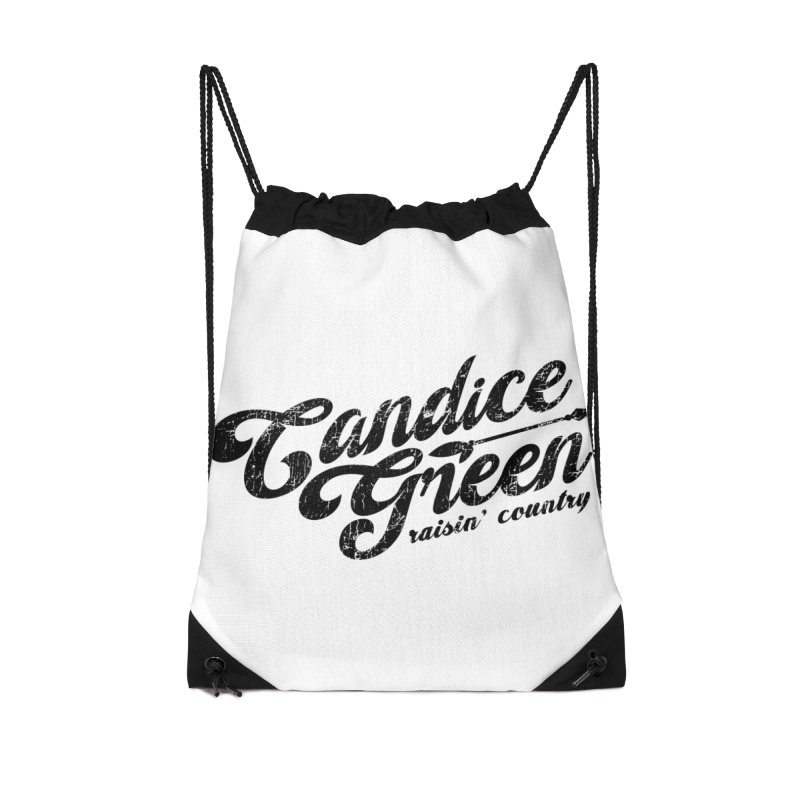 Candice Green - Raisin' Country - for light colors Accessories Bag by candicegreenmusic's Artist Shop