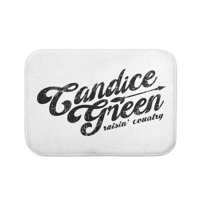 Candice Green - Raisin' Country - for light colors Home Bath Mat by candicegreenmusic's Artist Shop