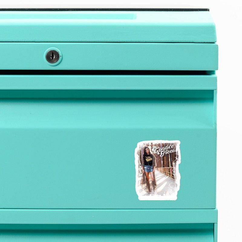 Candice Green Pretty Heart Design Accessories Magnet by candicegreenmusic's Artist Shop