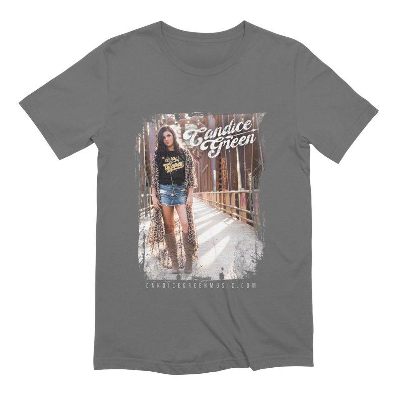 Candice Green Pretty Heart Design Men's T-Shirt by candicegreenmusic's Artist Shop