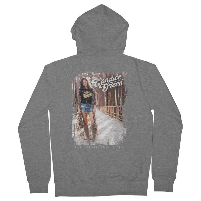 Candice Green Pretty Heart Design Women's Zip-Up Hoody by candicegreenmusic's Artist Shop
