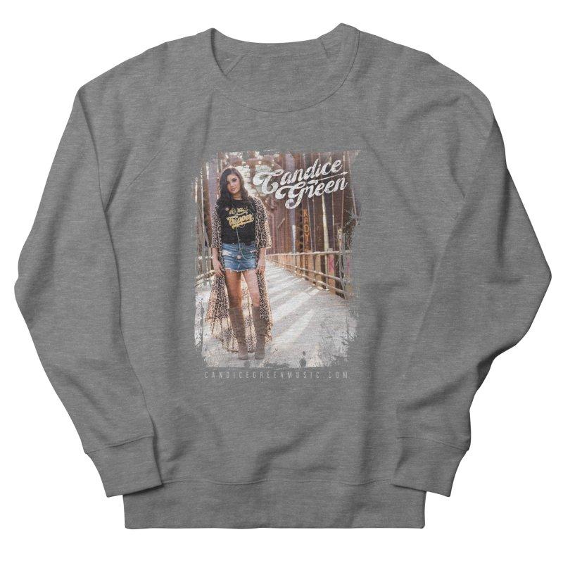Candice Green Pretty Heart Design Women's Sweatshirt by candicegreenmusic's Artist Shop