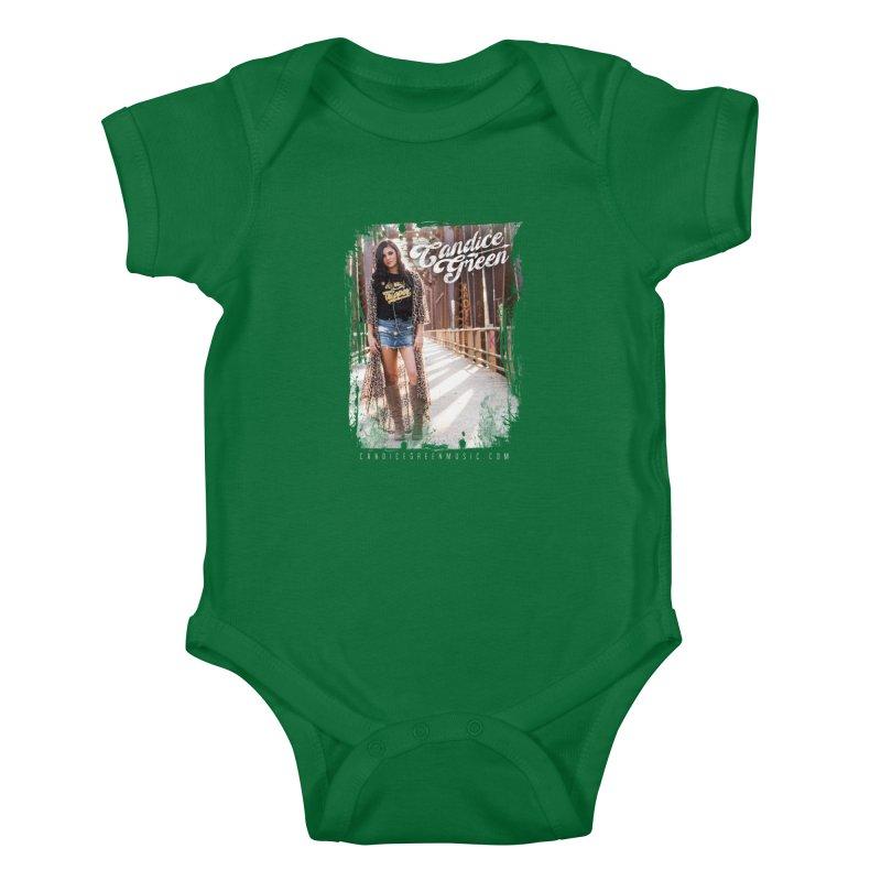 Candice Green Pretty Heart Design Kids Baby Bodysuit by candicegreenmusic's Artist Shop