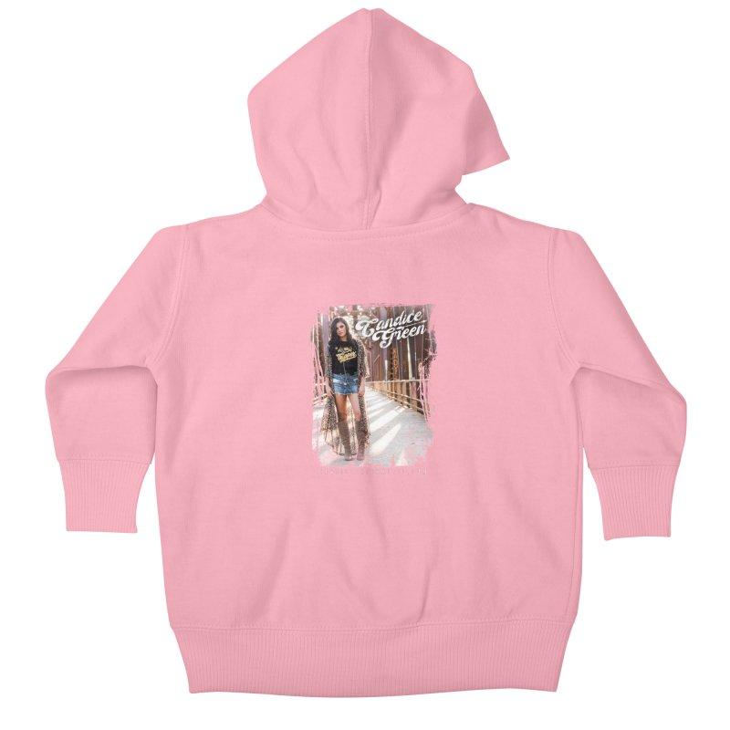 Candice Green Pretty Heart Design Kids Baby Zip-Up Hoody by candicegreenmusic's Artist Shop