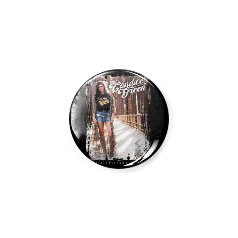 Candice Green Pretty Heart Design Accessories Button by candicegreenmusic's Artist Shop