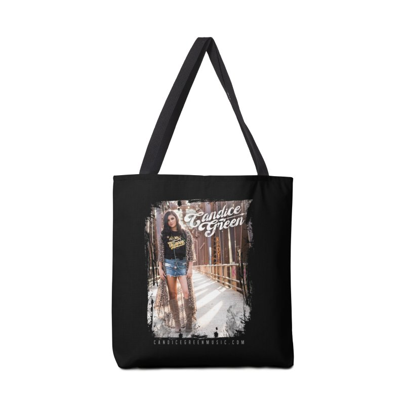 Candice Green Pretty Heart Design Accessories Bag by candicegreenmusic's Artist Shop