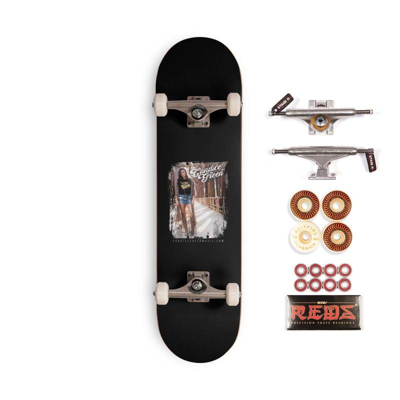 Candice Green Pretty Heart Design Accessories Skateboard by candicegreenmusic's Artist Shop