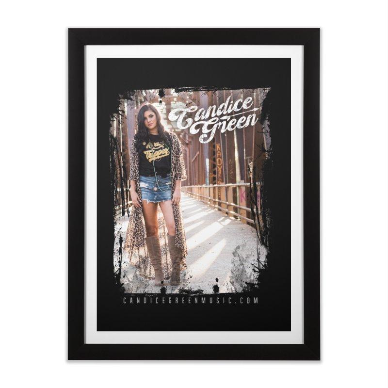 Candice Green Pretty Heart Design Home Framed Fine Art Print by candicegreenmusic's Artist Shop
