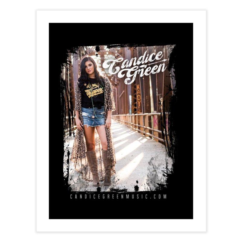 Candice Green Pretty Heart Design Home Fine Art Print by candicegreenmusic's Artist Shop