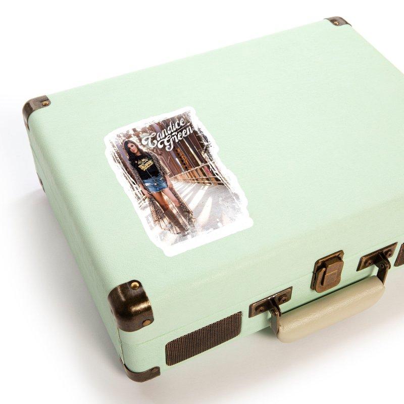 Candice Green Pretty Heart Design Accessories Sticker by candicegreenmusic's Artist Shop