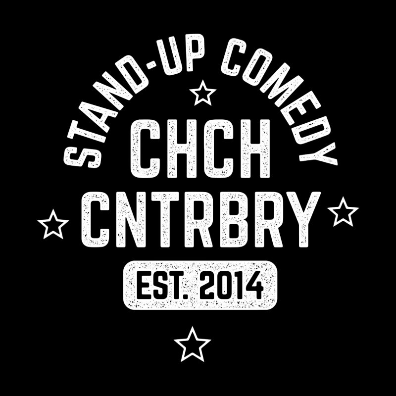CHCH CNTRBRY White Men's T-Shirt by Can Do Comedy Official Merchandise Store