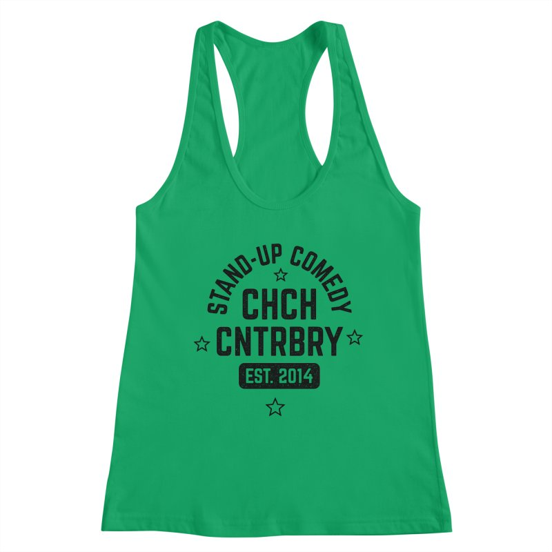 CHCH CNTRBRY Black Women's Tank by Can Do Comedy Official Merchandise Store