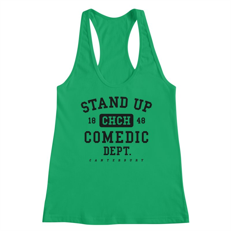 CHCH Comedic Dept Black Women's Tank by Can Do Comedy Official Merchandise Store