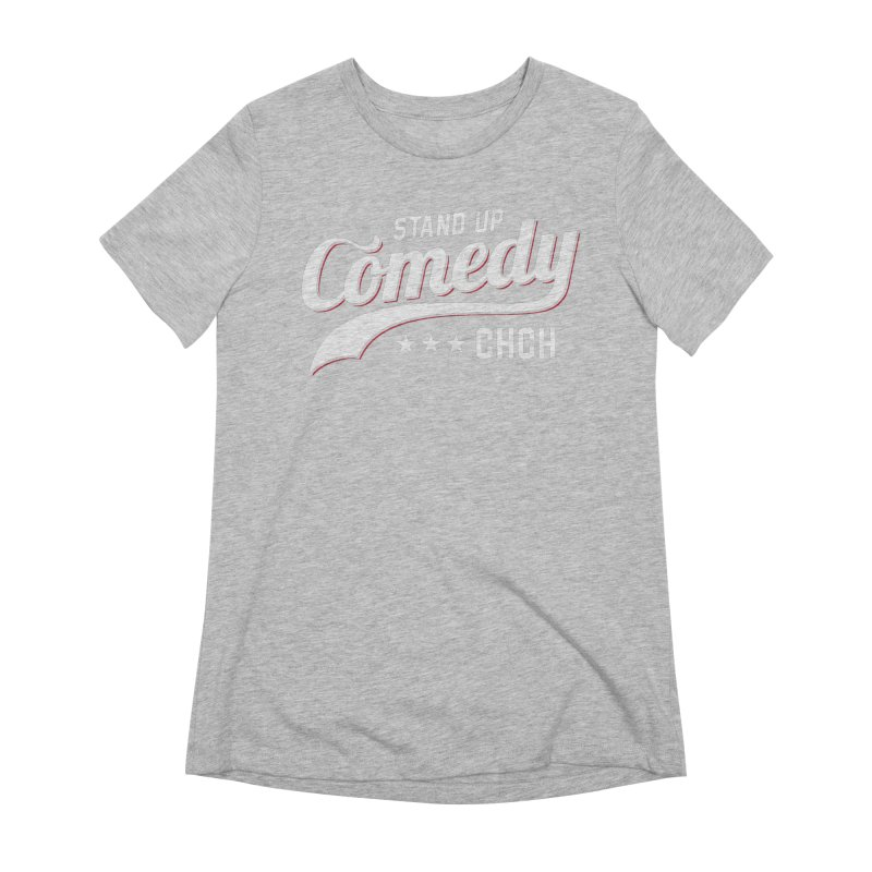 Stand Up Chch Swoosh Women's Extra Soft T-Shirt by Can Do Comedy Official Merchandise Store
