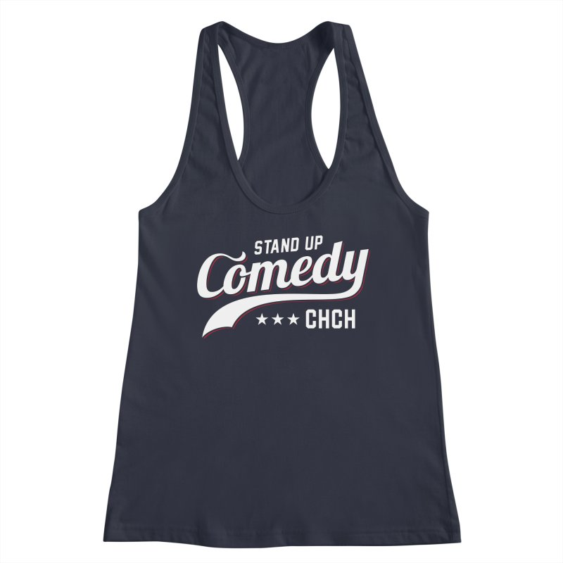 Stand Up Chch Swoosh Women's Tank by Can Do Comedy Official Merchandise Store