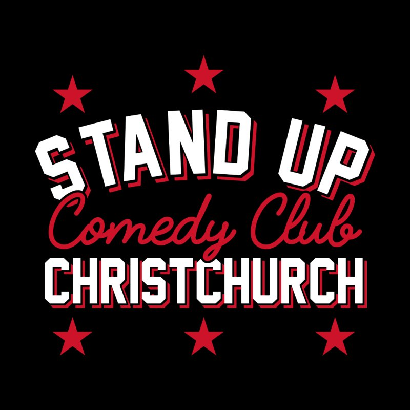 Stand Up Stars Red Men's T-Shirt by Can Do Comedy Official Merchandise Store