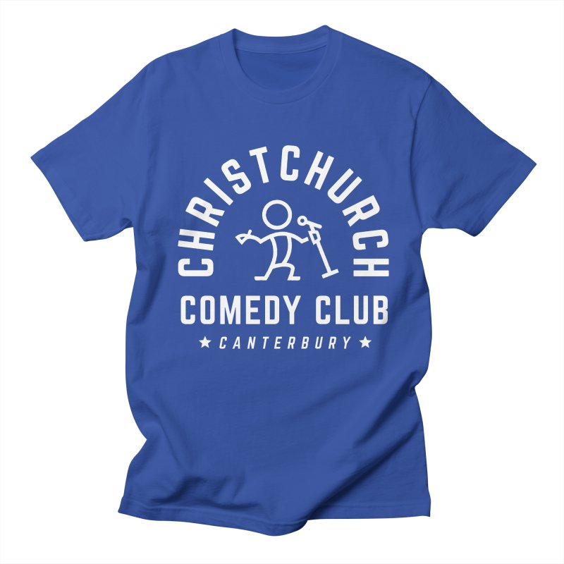 Stick Figure White Men's Regular T-Shirt by Can Do Comedy Official Merchandise Store