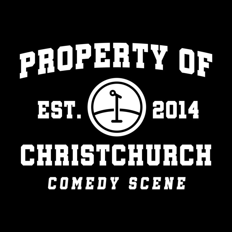 Property Of Chch White Men's T-Shirt by Can Do Comedy Official Merchandise Store