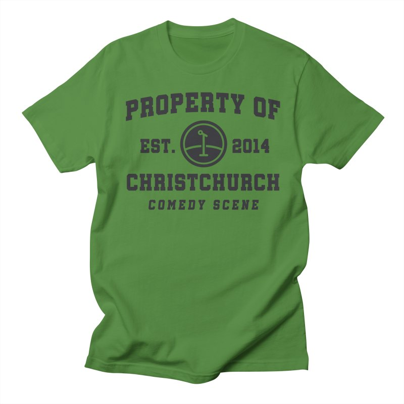 Property Of Chch Black Women's Regular Unisex T-Shirt by Can Do Comedy Official Merchandise Store