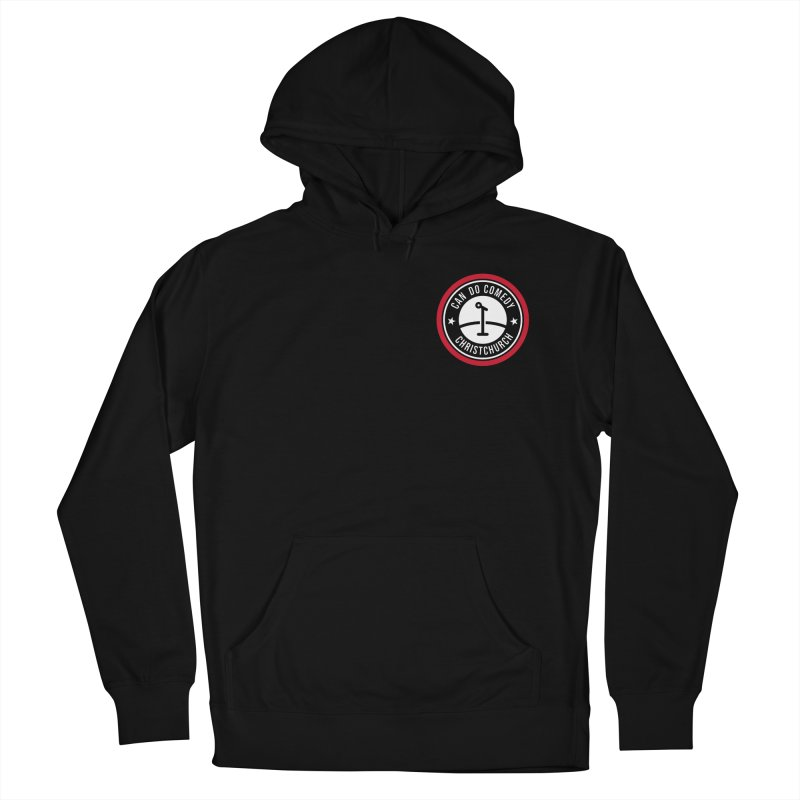 Can Do Comedy Pocket Men's French Terry Pullover Hoody by Can Do Comedy Official Merchandise Store