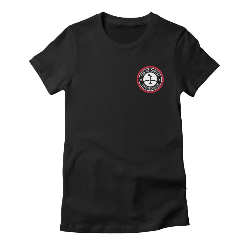 Can Do Comedy Pocket Women's Fitted T-Shirt by Can Do Comedy Official Merchandise Store