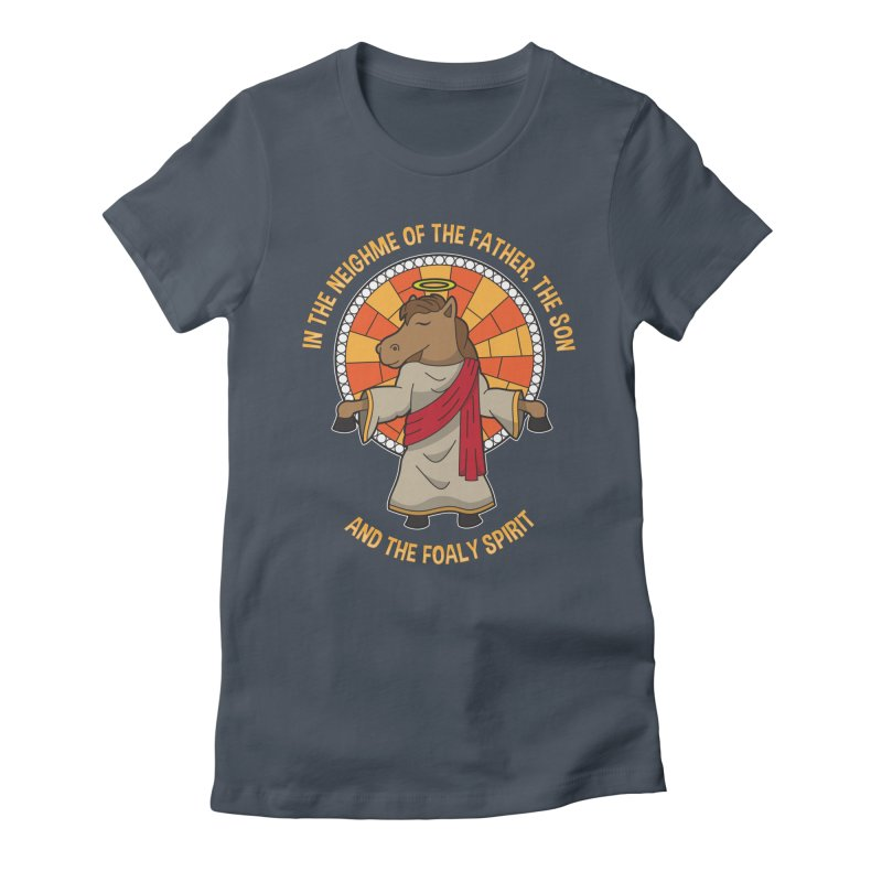The Foaly Spirit Women's Fitted T-Shirt by Can Do Comedy Official Merchandise Store