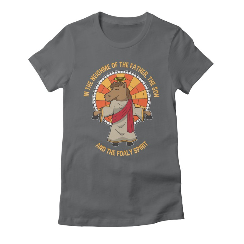 Taylor Ruddle - The Foaly Spirit Women's Fitted T-Shirt by Can Do Comedy Official Merchandise Store